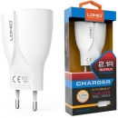 Ldnio 2 Usb Port Eu Plug 5v 2.4a Travel Charger For Iphone 7