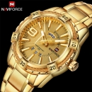 Naviforce Gold Watches Heavy Box Pack