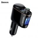 Baseus Fm Transmitter Bluetooth Car Kit Handsfree Modulator 3.4a