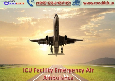 Now Call Medilift Air Ambulance in Lucknow for Patient Transfer