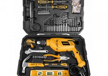 Ingco 101 Pcs Household Tools Set Hkthp11021