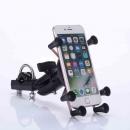 Dogain Antitheft Style Motorcycle Bike Phone Holder Navigation Bracket