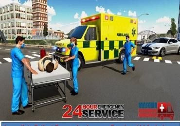 Get Injured Patient Transfer by Jansewa Panchmukhi Ambulance in Mokama