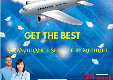 Use Critical Patient Transfer Commercial Aircraft Ambulance in Bhopal by Medilift