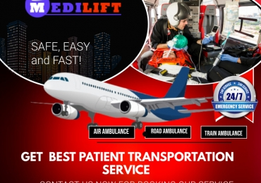 The Complete A to Z Medical Support – Medilift Air Ambulance in Varanasi