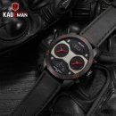Kademan Luxury Dual Display Men Watch Top Brand Digital Analog Waterpr