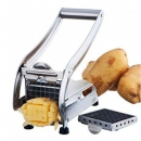 Potato Cutter Slicer Stainless Steel French Fry Chopper With 2 Blades