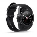 V8 Smart Watch Bluetooth Round Screen Smartwatch Support Sim