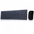 Combo Of Wireless Keyboard With Number Pad And Mouse