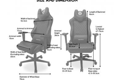 Fantech Gaming Chair Arrived Alfa Gc-184