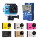 Action Camera 16mp 4k / 30fps Wifi 2.4g Remote Controller Waterproof