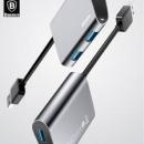Baseus Enjoyment Series Usb To 3 Usb 3.0 Hub Adapter