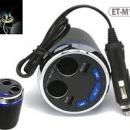 Earldom Et-m15 Smart Current Demitasse Car Charger Fm Transmitter