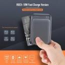 Rock P65 Mini Pd Quick Charge Power Bank 10,000 Mah Usb A Typec Dual