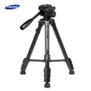 Yunteng Vct-668 Portable Tripod With Damping Head Fluid Pan For Dslr