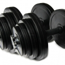 20kg Plates With Dumbell Rods