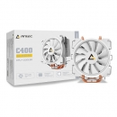 Antec Cpu Air Cooling C400 Glacial Pure White Led (as Cold As Ice)