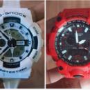 branded G shock watch