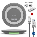 Original Samsung Wireless Charger With Chargering Cable And Adapter