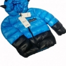 Blue And Black Down Jackets