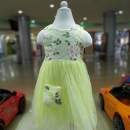 Neon Party Wear With Cute Bag