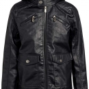 Pu Leather Jacket With Polar Inside