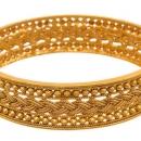 Traditional Gold Plated Antique Designer Kada