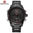 Naviforce Watch 9024 Black Dial With Red