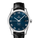 Brand New Omega De Ville Automatic Steel Mens Strap Watch Blue Dial