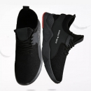 Summer Black Men Vulcanize Shoes Breathable Sports Male Casual Sneaker