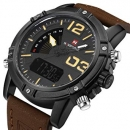 Nf9095m Brown Dial Analog-digital Watch For Men